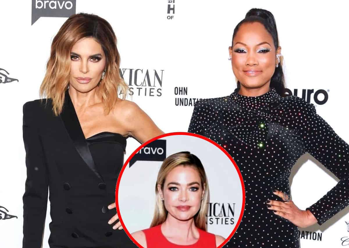 RHOBH's Lisa Rinna Shades Garcelle Beauvais, Reveals if She's Spoken to Denise Richards and Shares Thoughts on Scott Disick