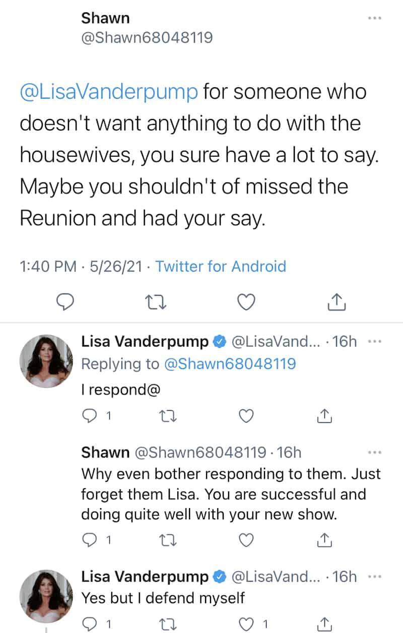 Lisa Vanderpump Explains Why She Keeps Talking About RHOBH