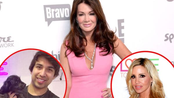 RHOBH Alum Lisa Vanderpump Shares Update on John Blizzard, Reacts to Camille Grammer Defending Her to Andy Cohen Backstage During the Season 10 Reunion