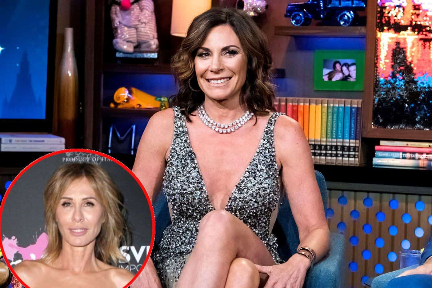 """Luann de Lesseps Slams Carole Radziwill Over """"Negative Comments,"""" Plus RHONY Star Dishes on Real Housewives All Stars and Shares Who She'd Like to Hookup With"""