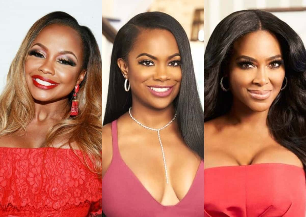 """RHOA Alum Phaedra Parks Reveals If She'll Ever Make Amends With Kandi Burruss And Reacts To Kenya Moore's Comments About """"Chummy"""" Relationship With Ex-Husband Apollo Nida"""