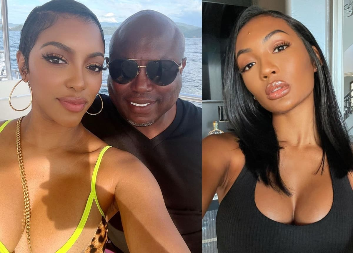 RHOA's Simon Guobadia Accused of Cheating on Fiancee Porsha Williams, Plus Falynn Guobadia Confirms She and Simon Are Still Legally Married as Cynthia Bailey Weighs in