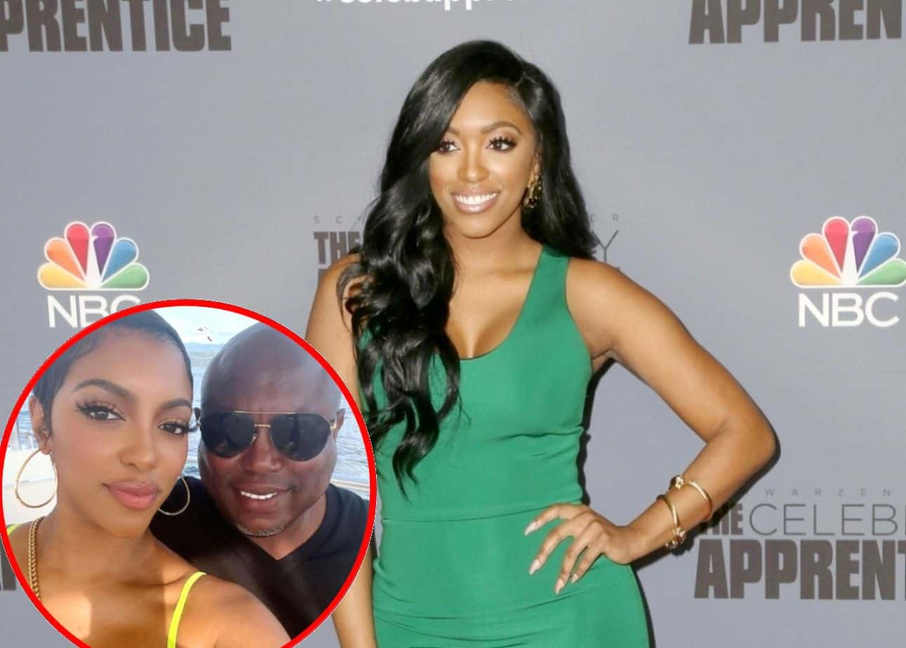 """RHOA Star Porsha Williams Swoons Over """"Hot"""" Fiancé Simon Guobadia and Shares New Photos With Him as He Shows Off His Brand New Smile"""