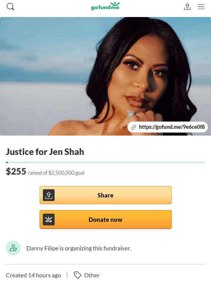 RHOSLC Jen Shah GoFundMe