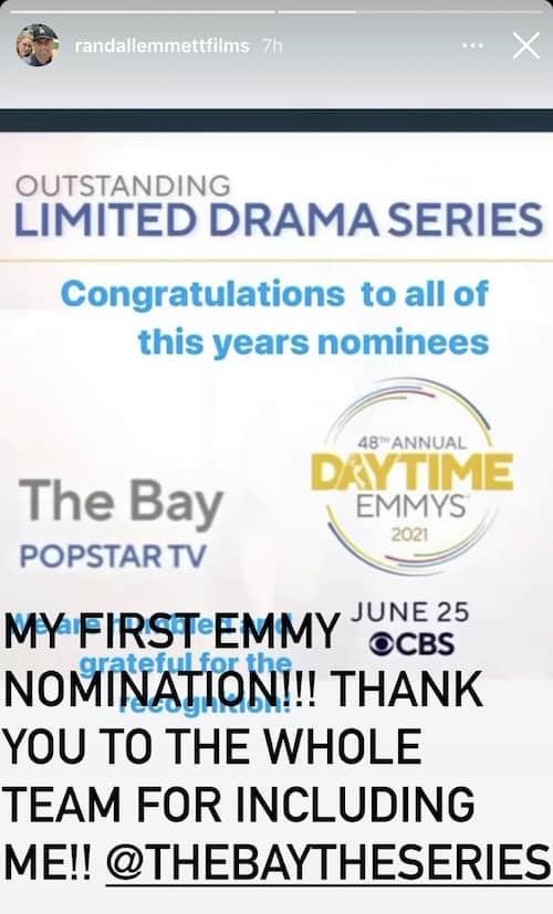 Vanderpump Rules Randall Emmett Reacts to First Emmy Nomination