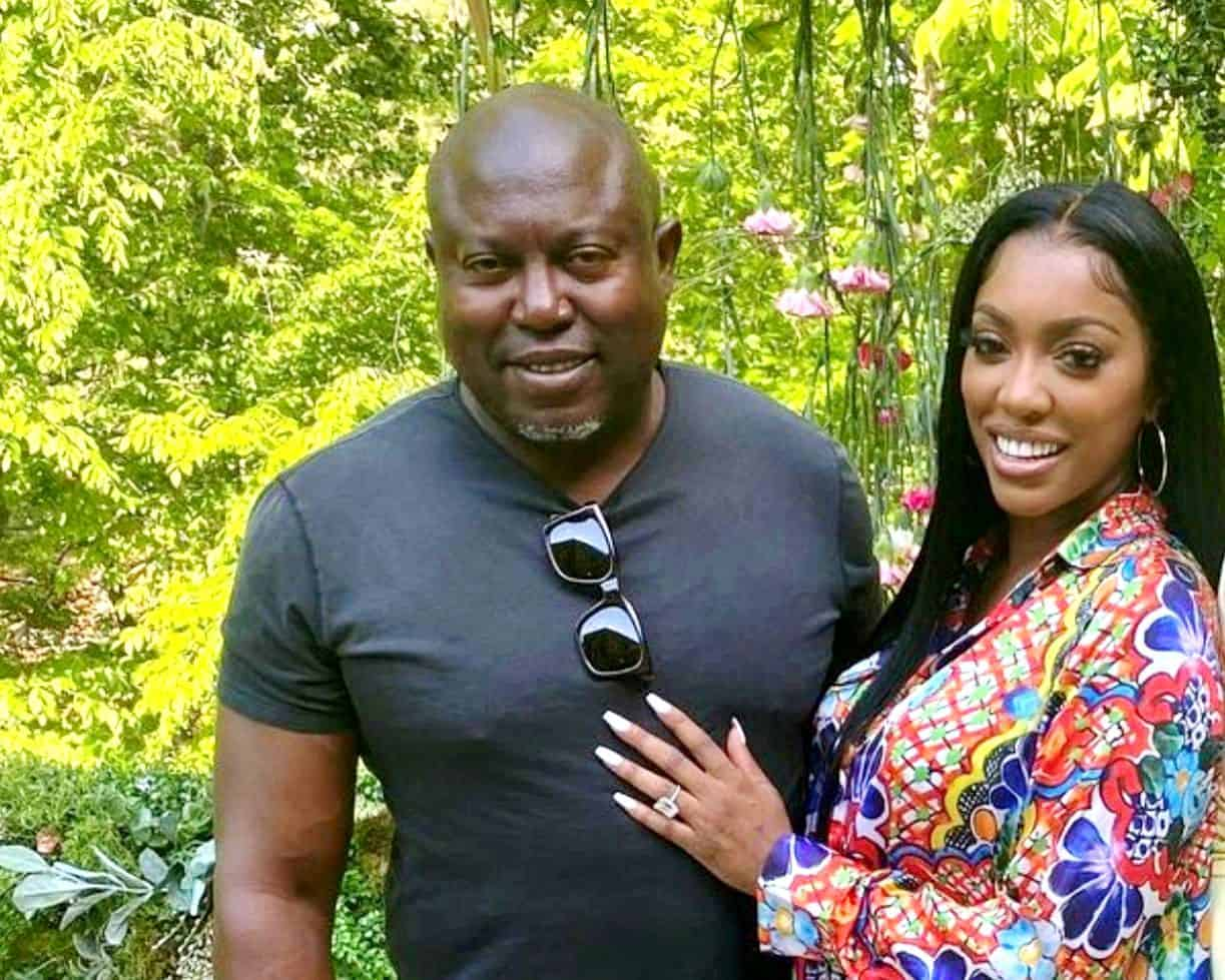 RHOA Star Porsha Williams Reveals When Fiancé Simon Guobadia Proposed, Explains Reason Behind Picture That Broke the Internet and Addresses Pregnancy Speculation