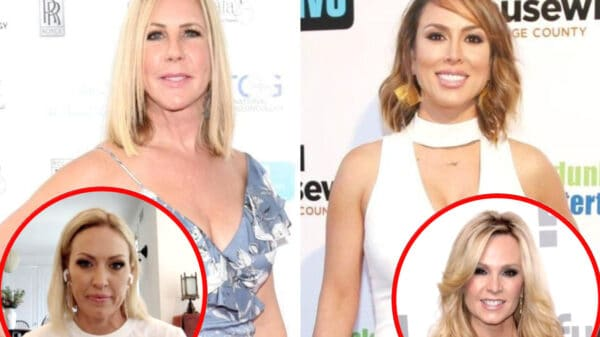 """Vicki Gunvalson Says Kelly Dodd Will """"Eventually"""" be Fired From RHOC, Slams Braunwyn as """"Confusing"""" and Reveals Which Costar """"Embellish"""" for Cameras, Plus Talks New Show With Tamra Judge"""
