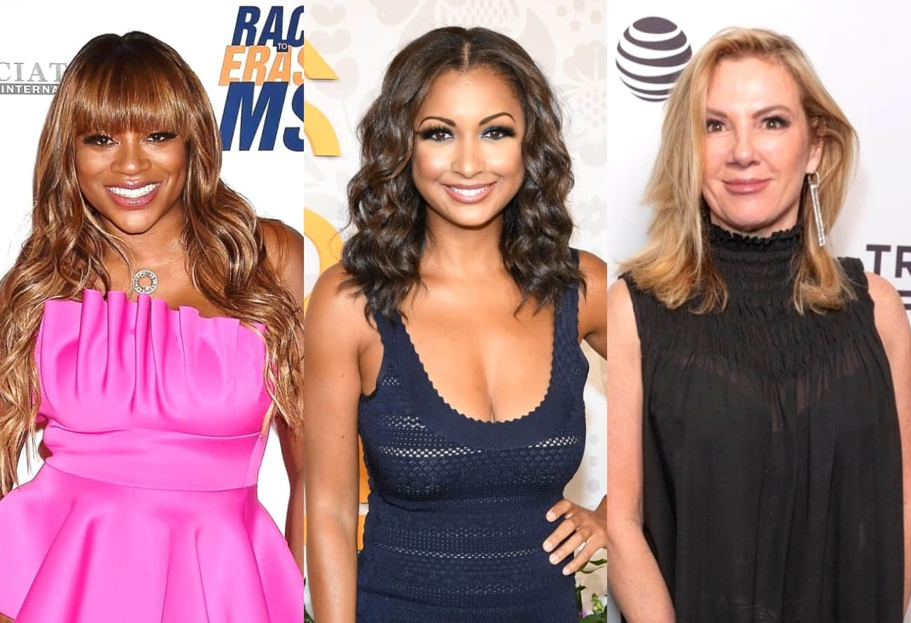 """RHONY's Bershan Shaw Explains Why She and Eboni K. Williams Didn't Hit It Off, Admits She Doesn't Want to be """"Science Experiment on Race"""" and Discusses Friendship With Ramona Singer"""