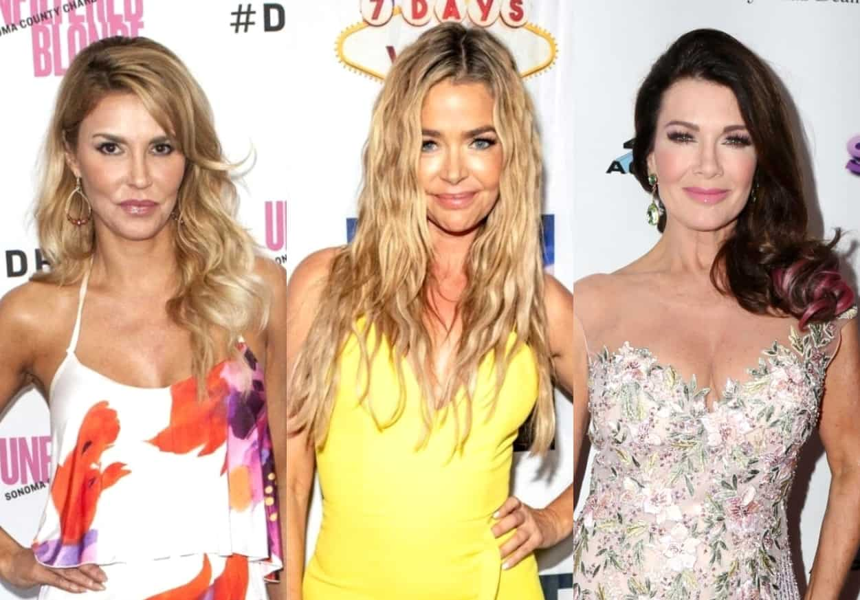 Brandi Glanville Reacts to Denise Richards Liking Her Instagram Photo, Explains What Ended Friendship With Lisa Vanderpump, and Claims Lisa Has Secret Fur Closet, Plus Drunken Encounter With Famous Couple