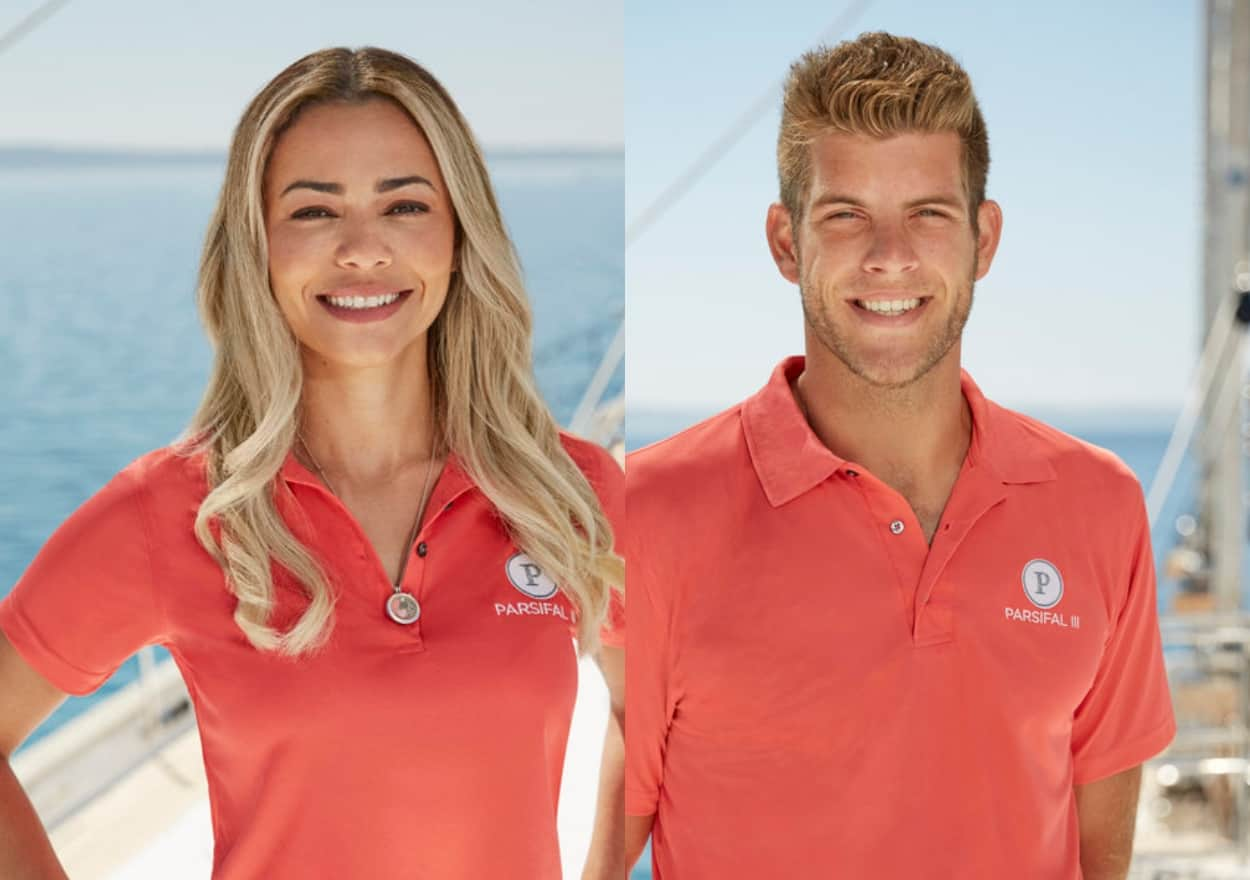 Dani Soares Responds to Jean-Luc Cerza Lanaux's Paternity Posts and Claims They Were in a Good Place After Filming Below Deck Sailing Yacht, Plus She Dishes On Motherhood