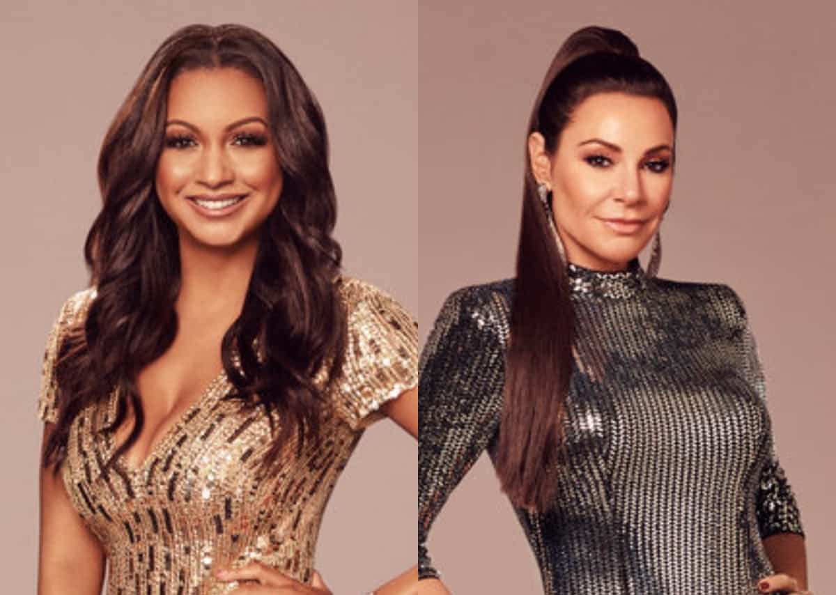 """Eboni K. Williams on Luann's lack of """"trust"""" after RHONY fight, thinks not understanding racial issues is """"generational"""""""