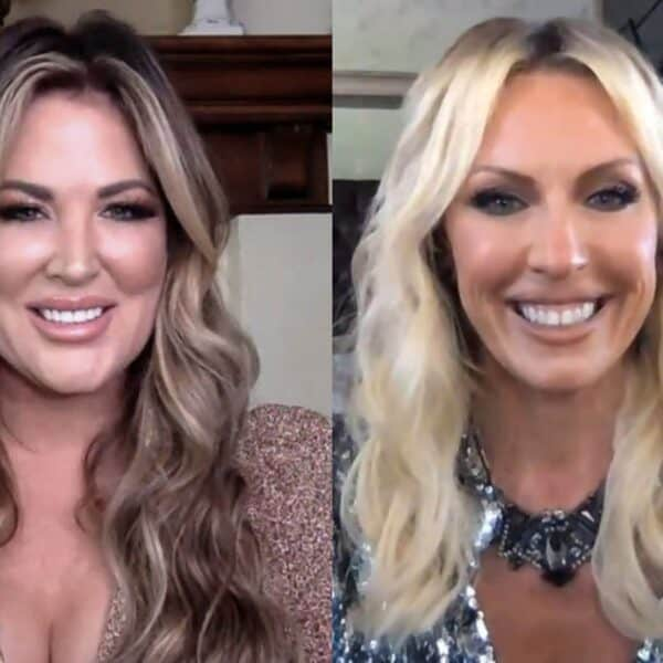 RHOC's Emily Simpson Claps Back at Braunwyn for Suggesting She Should Have Been Fired, Reacts to Heather Dubrow's Return, and Shares Marriage Tips
