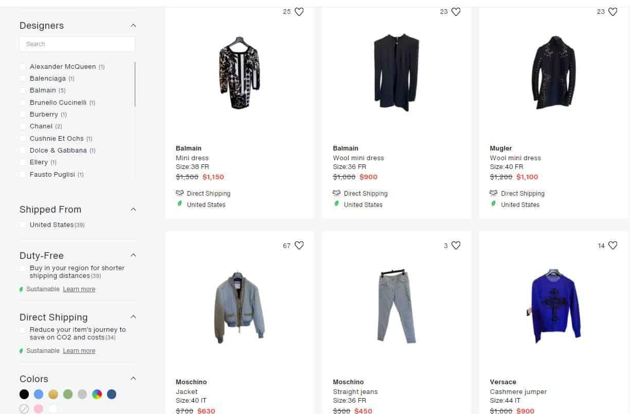 Erika Jayne selling Designer clothes