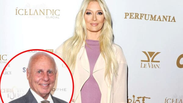 Erika Jayne Claps Back at Claims She Never Addressed Thomas Girardi's Alleged Cheating Prior to RHOBH Star's Legal Mess