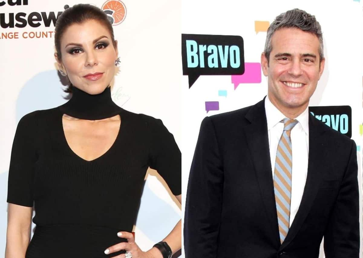 Heather Dubrow talks about why she agreed to return to RHOC, says she left due to 'culture change' as Andy Cohen talks
