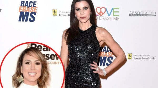 """RHOC Star Heather Dubrow Shuts Down """"B*llsh*t"""" Rumors She and Husband Terry Had Dinner With Kelly Dodd and Rick Leventhal"""