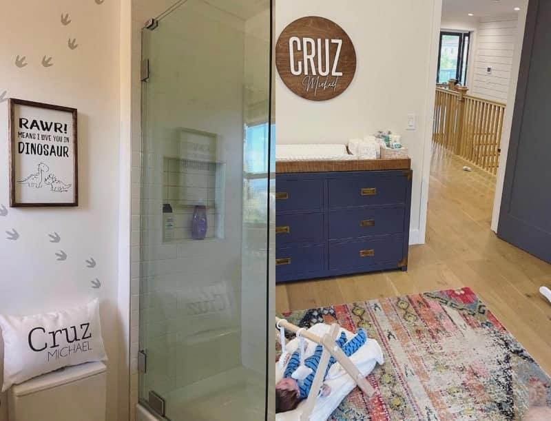 Vanderpump Rules Jax Taylor and Brittany Cartwright's Son Cruz's Nursery