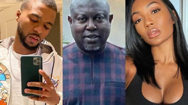 """Man Leaks Texts From Simon Guobadia After He Posts Video """"Receipts"""" of Falynn's Alleged Cheating, Admits to Staying at Ex-RHOA Couple's Home for a Week"""