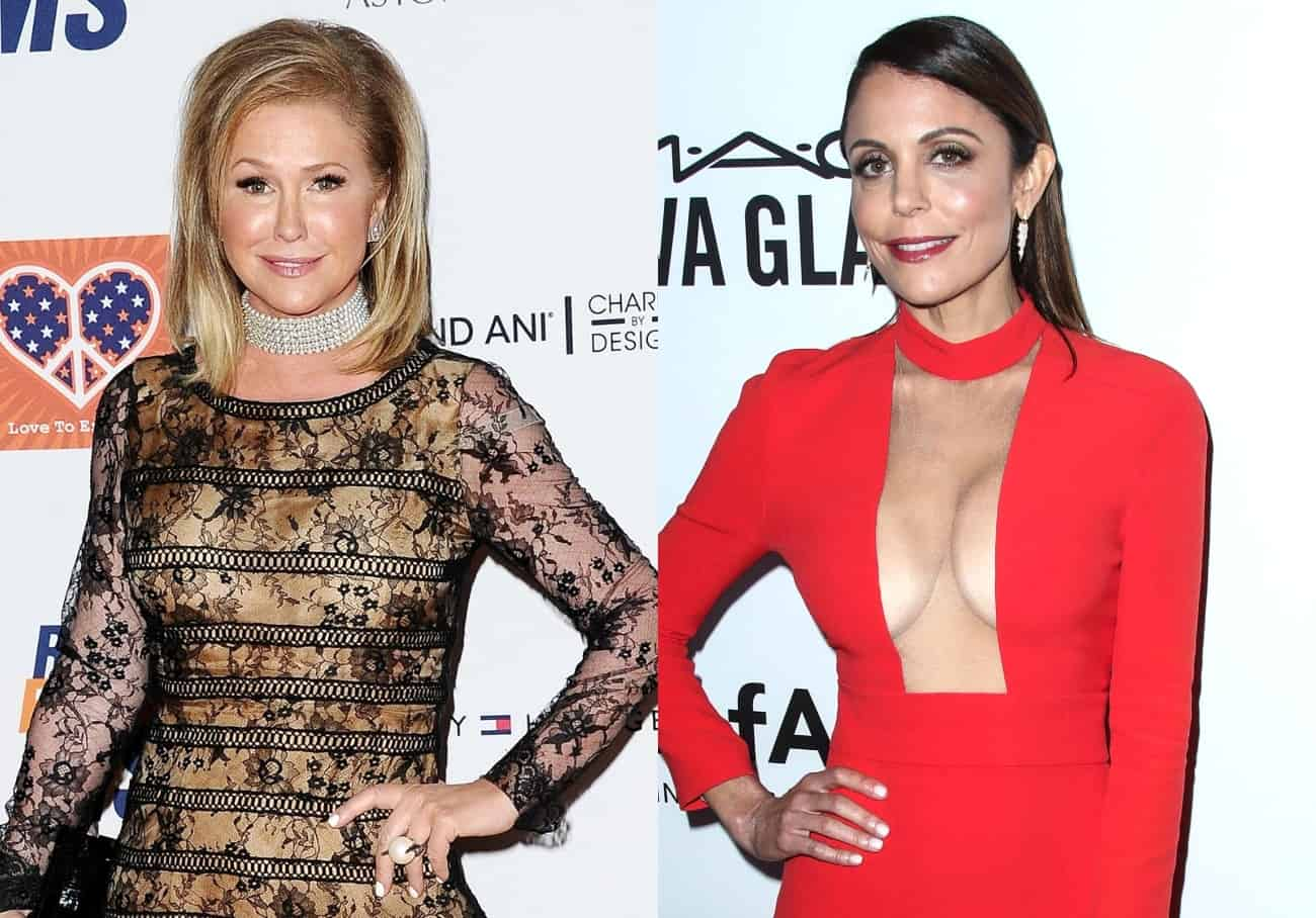 Kathy Hilton Shares Text Bethenny Frankel Sent Her After She Asked for Advice on 'RHOBH,' Looks Back on the Time the RHONY Alum Worked for Her