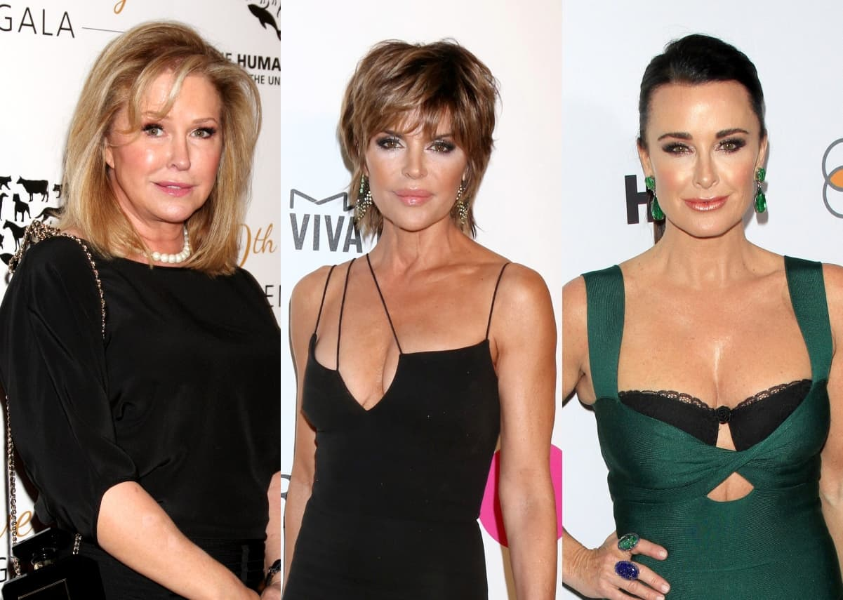 Kathy Hilton Reveals RHOBH Moment That Made Her Cry as Lisa Rinna Shares Craziest Rumor About Her Family, Plus Kyle Richards Seemingly Feels Safer Without Lisa Vanderpump on Show