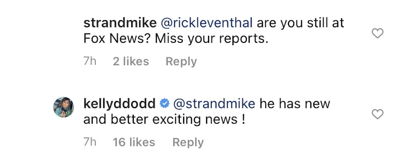 RHOC Kelly Dodd Hints Rick Leventhal is Moving on From Fox News