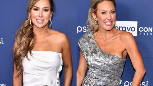 """Kelly Dodd Leaks Text Messages From Braunwyn Windham-Burke, Blames Her For RHOC Firing and Slams Ex Costar as """"Nut Job Narcissist"""" After Braunwyn Offers Support to Her"""
