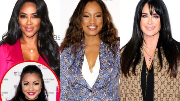 """RHOA Star Kenya Moore Accuses Garcelle Beauvais of Pulling """"Race Card"""" on Kyle Richards and Weighs in on Eboni K. Williams and Luann de Lesseps Drama"""