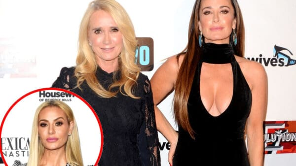 """RHOBH's Kyle Richards Defends Sister Kim Richards After She's Accused of Being """"High"""" and Clarifies Comments About Dorit Kemsley's Nose"""
