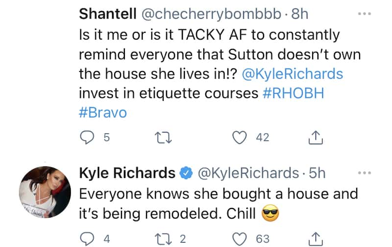 RHOBH Kyle Richards Claps Back at Claims of Poor Etiquette