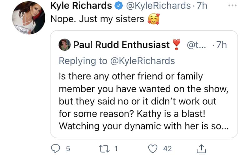 Kyle Richards Doesn't Want Anyone Else to Join RHOBH Than Sisters