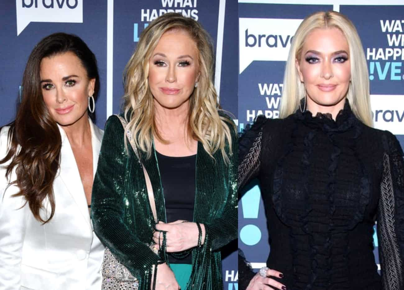 RHOBH's Kyle Richards Reacts to Erika Jayne's Divorce Text, Reveals What Surprised Her Most About Kathy's Debut Season and Teases Spinoff With Sisters, Plus Live Viewing Thread
