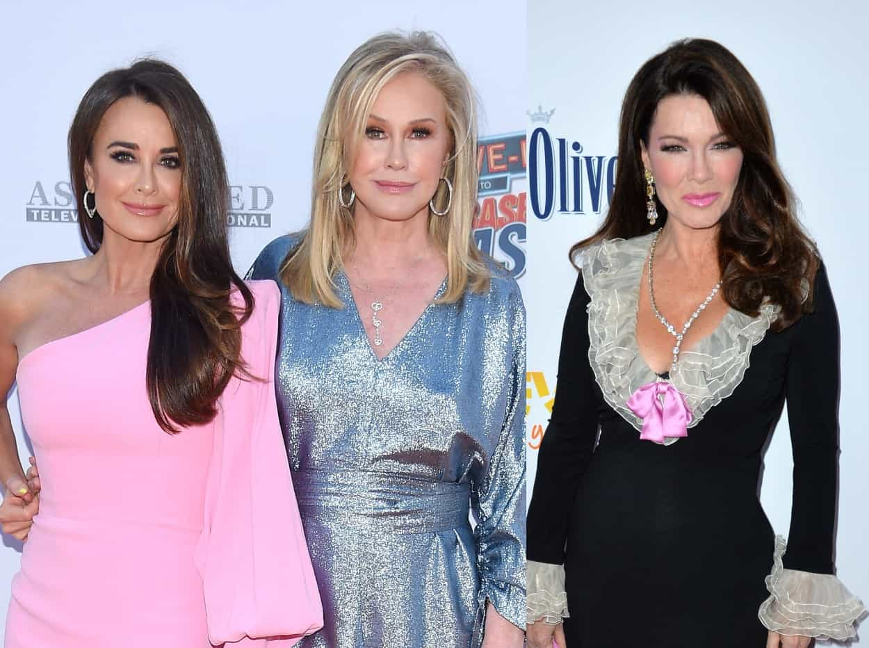 RHOBH's Kathy Hilton Hints She's No Longer Friends With Lisa Vanderpump, Shares What Lisa Did to Kyle That Upset Her as LVP Responds