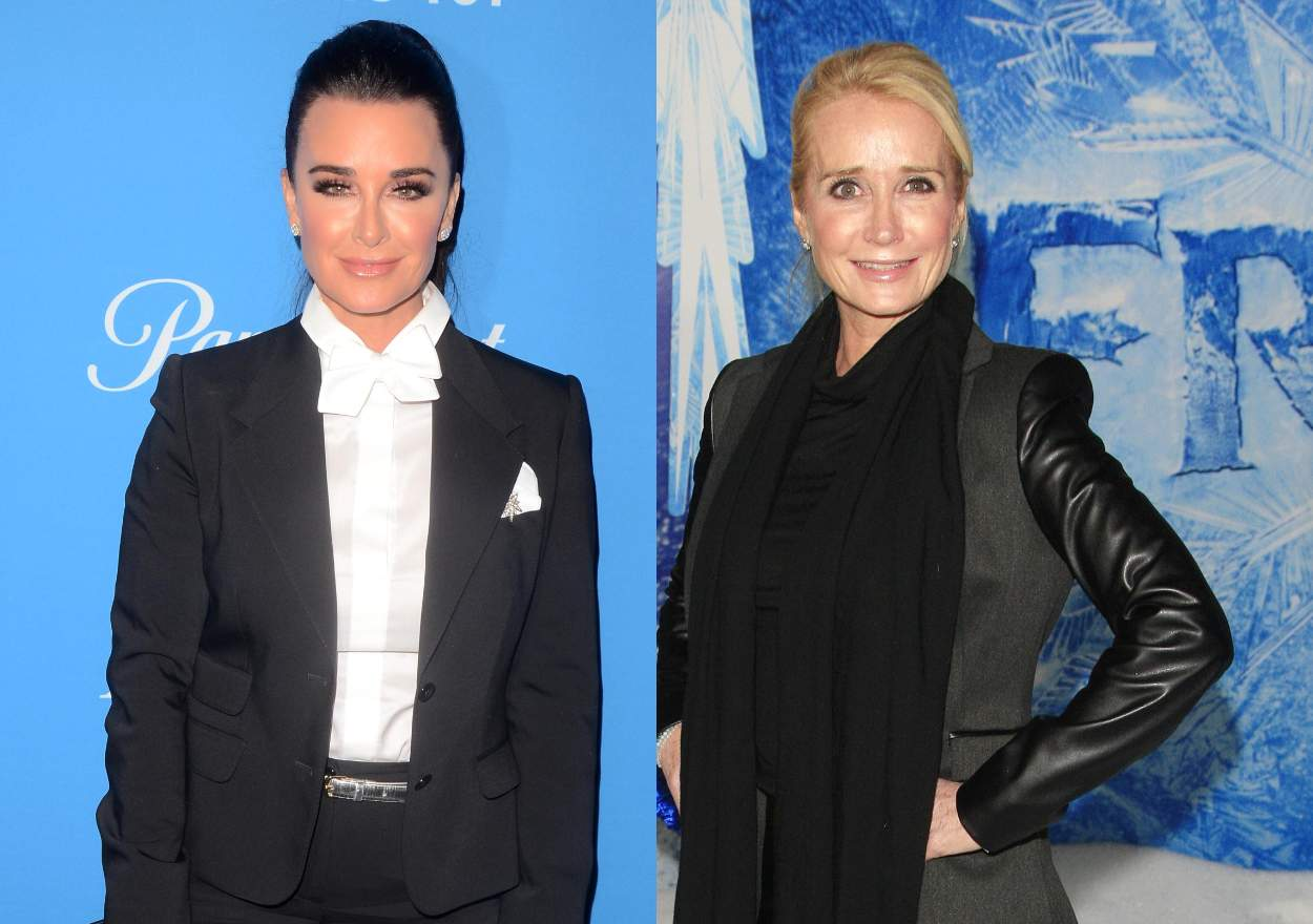 Kyle Richards reveals whether Kim Richards will appear on RHOBH, plus photos of Kyle's redesigned living room