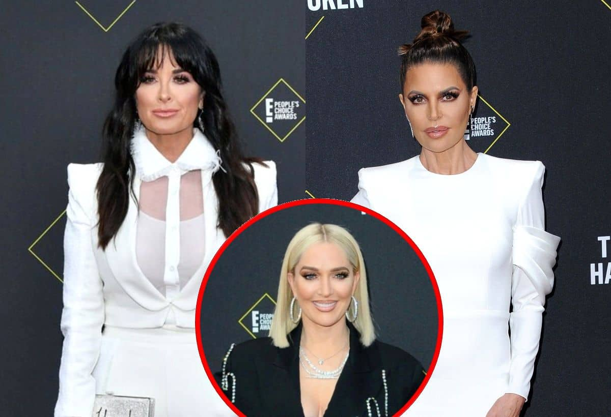Kyle Richards Addresses Lisa Rinna's Alleged Hypocrisy Over Not Questioning Erika Jayne as She Did Denise, Plus Kathy and Crystal Reveal if They Believe RHOBH Costar's Divorce Story