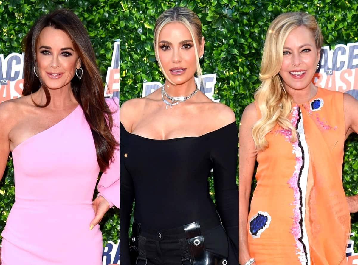 Kyle Richards explains off-camera drama with Dorit, criticizes criticism for comments about Sutton renting his home on RHOBH