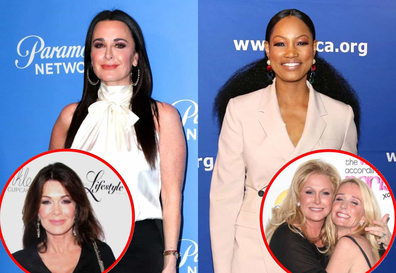 """RHOBH's Kyle Richards Labels Garcelle Beauvais the """"Queen of Deflection,"""" Seemingly Shades Lisa Vanderpump as a Grudge-Holder, and Compares Sisters Kathy Hilton and Kim Richards"""