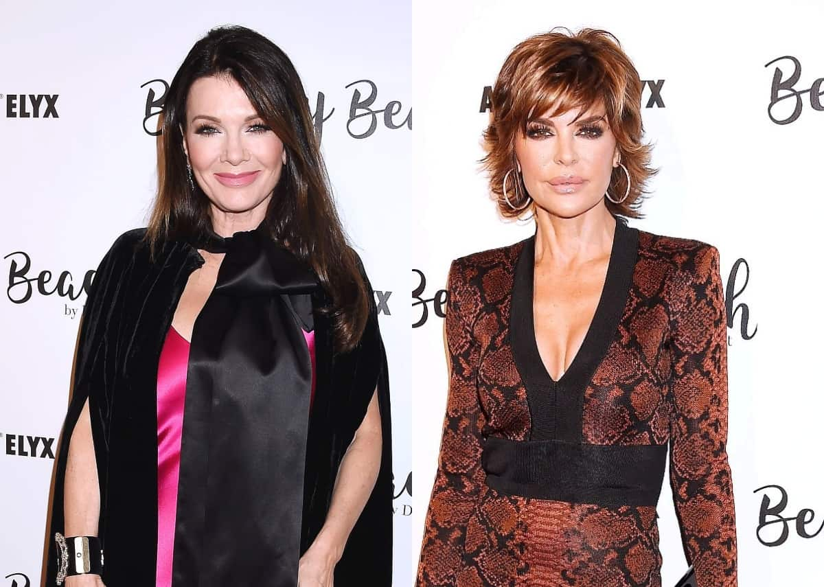 Lisa Vanderpump Fires Back at Lisa Rinna's Threat to Sue Over Spinoff and Shades Her With Old Tagline, Doubles Down on Who Owns RHOBH Cast Photo She Defaced and Talks Pump Rules