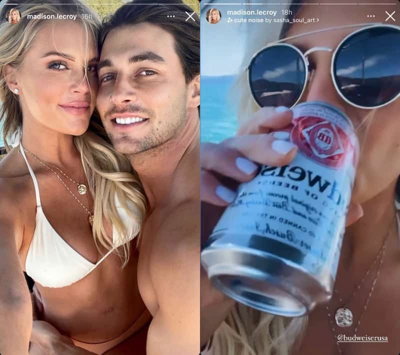 Southern Charm Madison LeCroy Debuts New Boyfriend and Drinks Budweiser