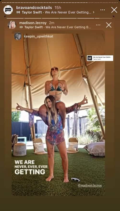 Southern Charm Madison LeCroy Pokes Fun at Austen Kroll and Kristin Cavallari