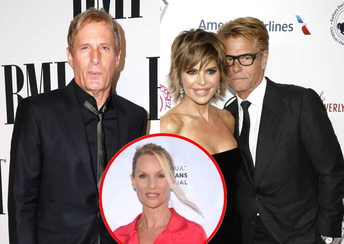 Michael Bolton Finally Breaks Silence on His Role In The Drama Between RHOBH Couple Lisa Rinna And Harry Hamlin And Harry's Ex-Wife Nicollette Sheridan