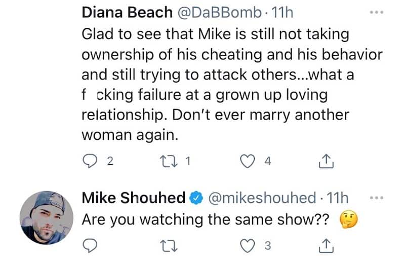 Shahs of Sunset Mike Shouhed Reacts to Fan Who Tells Him Not to Remarry