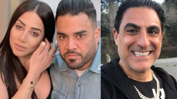 """Shahs of Sunset's Mike Shouhed Explains Why Girlfriend Paulina is """"Savage,"""" Claims Reza Farahan """"Loved"""" Reading His Dirty Text Messages and Teases """"Twists and Turns"""" About Spoof Messages"""