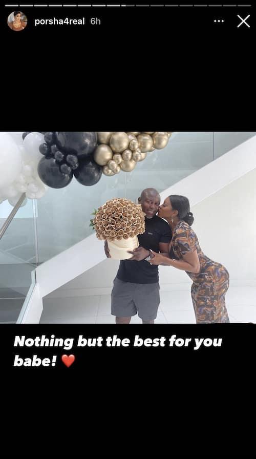 RHOA Porsha Williams Kisses Simon Guobadia on His Birthday