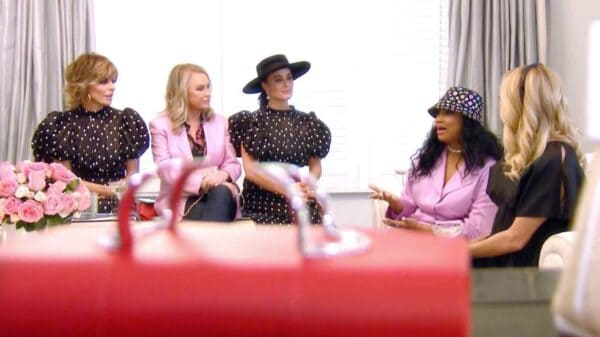 RHOBH Recap: The Women Are Left in Shock Over Erika's Text, Kyle and Dorit Butt Heads, and Sutton Hosts a Luncheon, Plus What Will Erika Share with the Ladies?