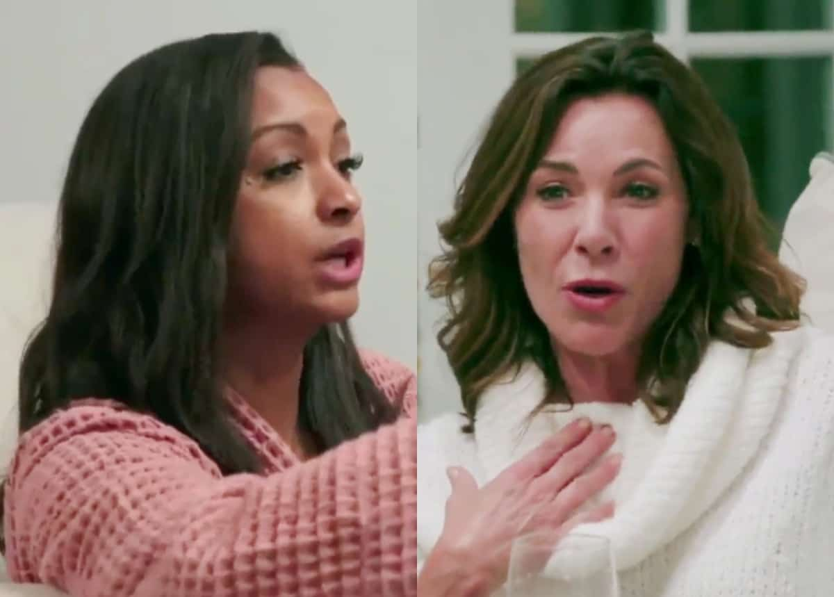 """RHONY Recap: Eboni Confronts Luann for Calling Her an """"Angry Woman"""" as Leah Calls Heather a """"Karen"""" and Almost Come to Blows During Heated Argument"""