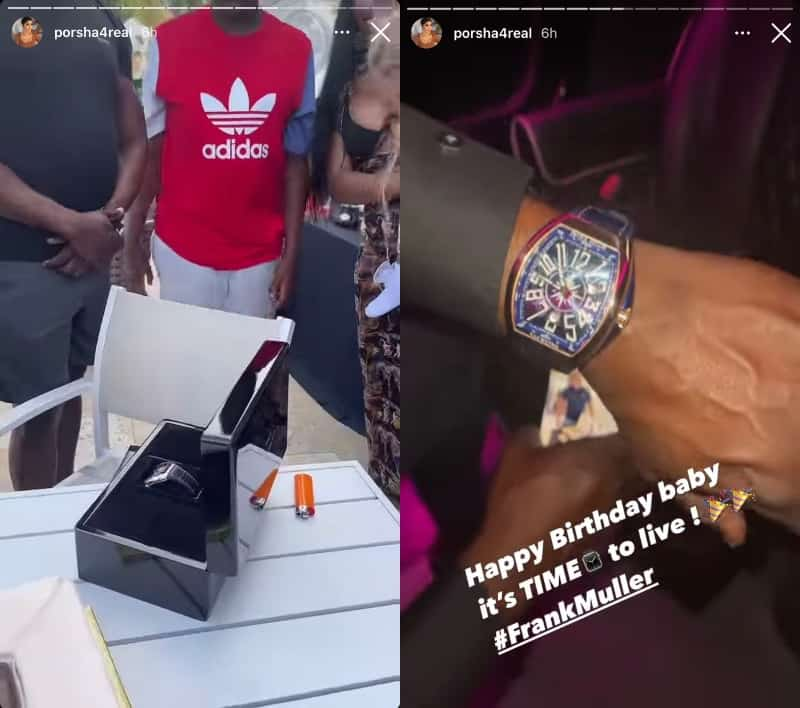 RHOA Simon Guobadia Shows Off Birthday Watch From Porsha Williams
