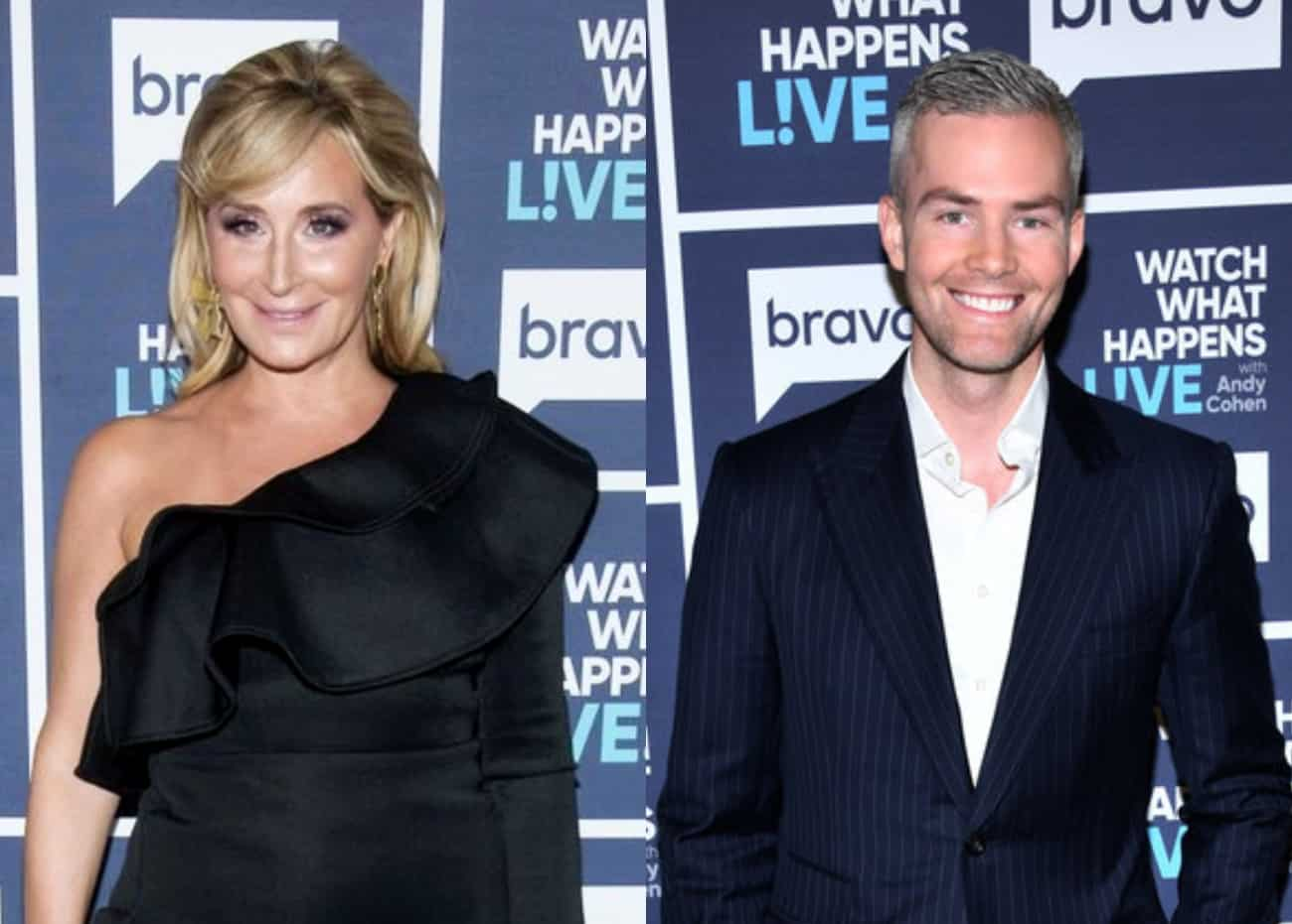 RHONY's Sonja Morgan Shares Details Of Her Shocking Short-Lived Romance With MDLNY Star Ryan Serhant