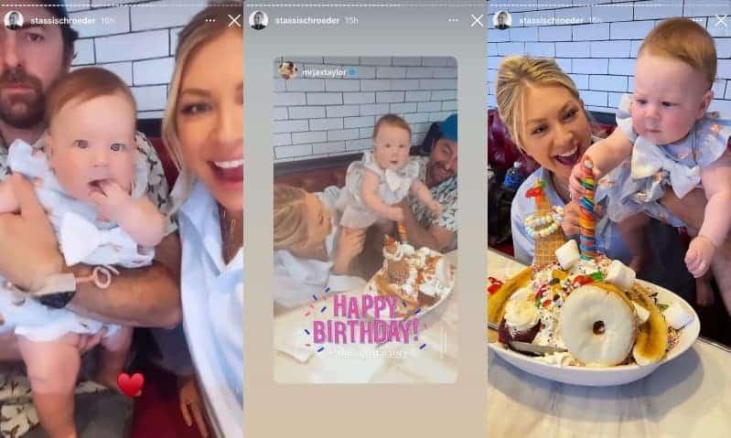 Vanderpump Rules Stassi Schroeder Celebrates Birthday With Husband Beau and Daughter Hartford