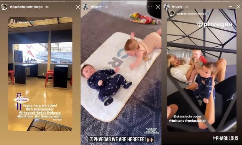 Vanderpump Rules Stassi Schroeder's Daughter Hangs With Jax Taylor's Son in Las Vegas