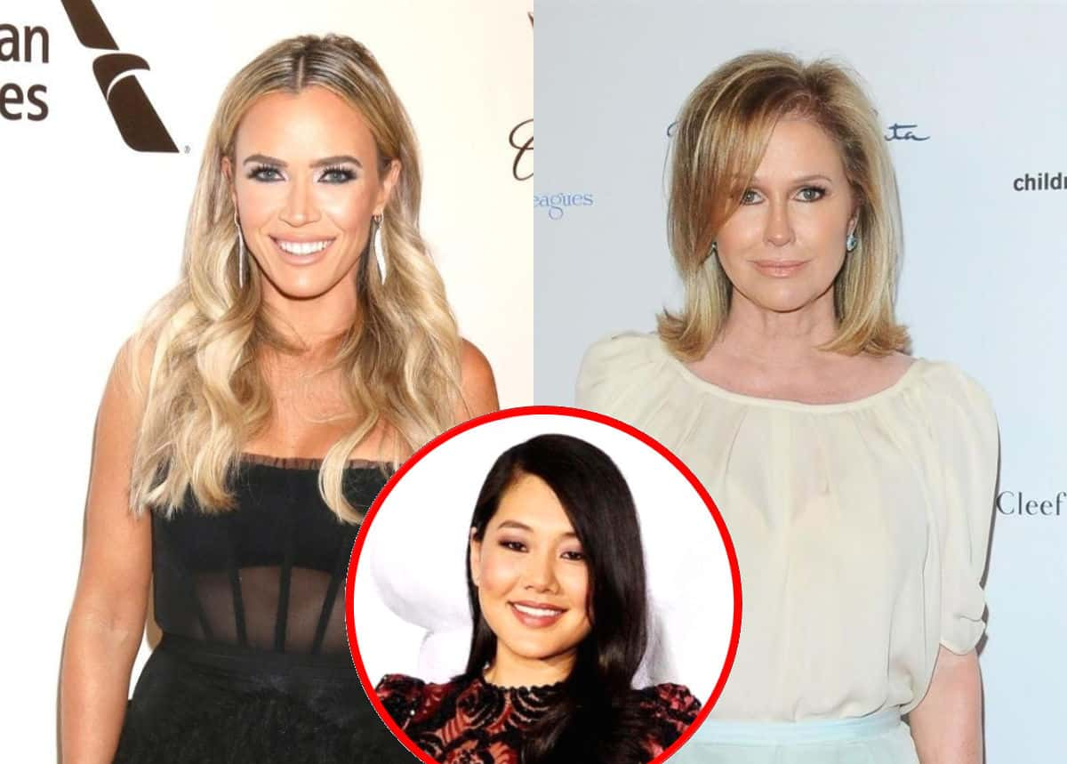 RHOBH's Teddi Mellencamp Reacts to Kathy Hilton Suggesting She Doesn't Know Her, Explains Friendship With Crystal Kung-Minkoff